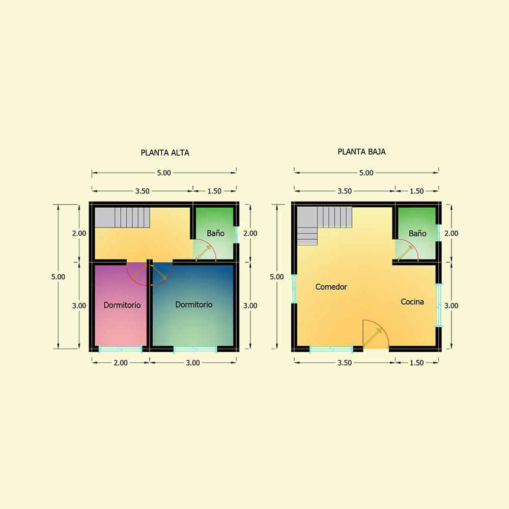 50 mts² (Plano N° 35)