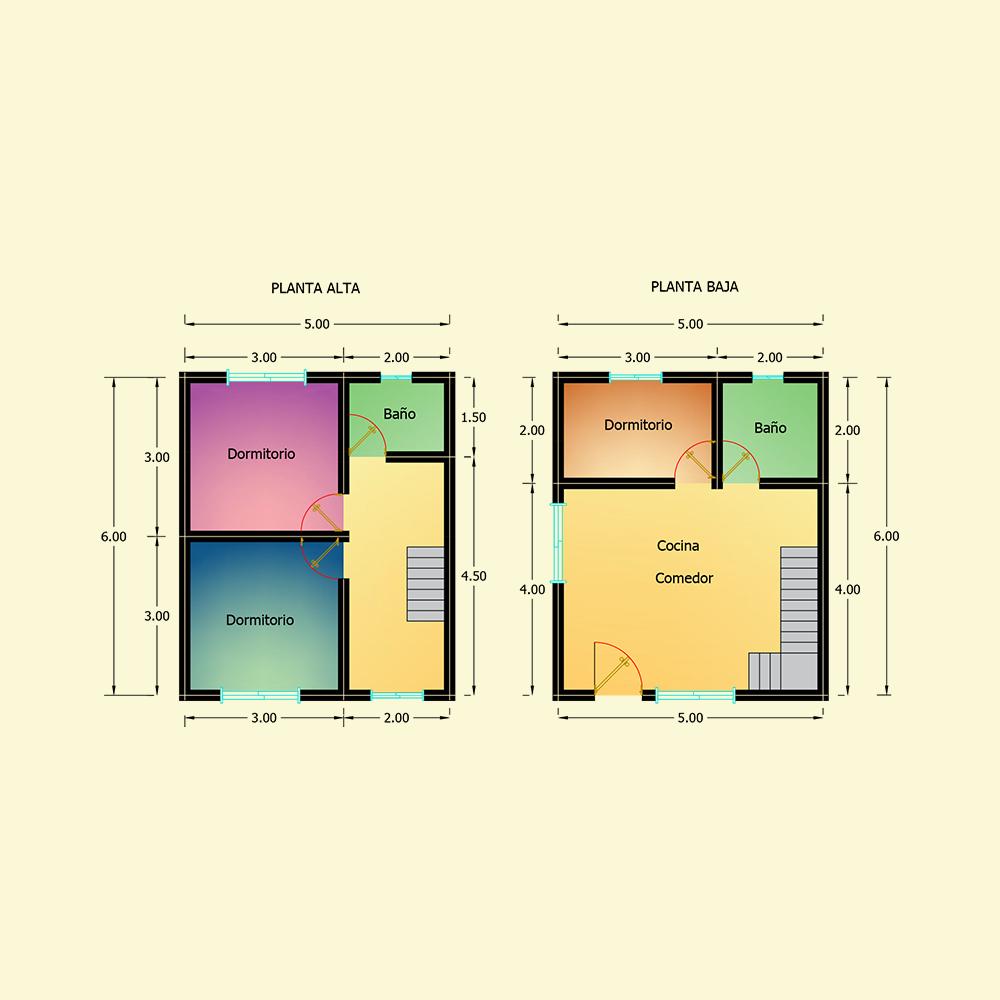 60 mts² (Plano N° 38)