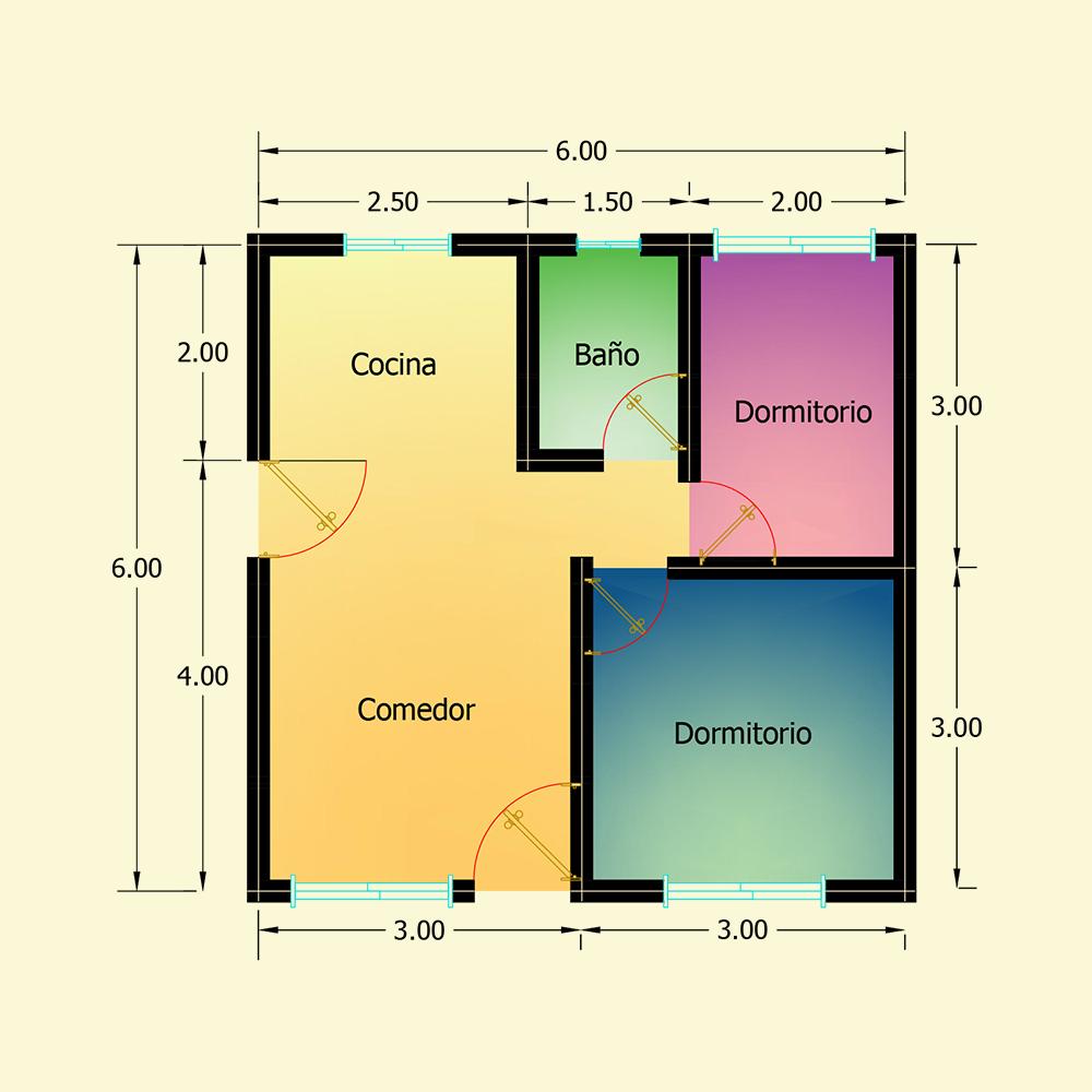 36 mts² (Plano N° 9)