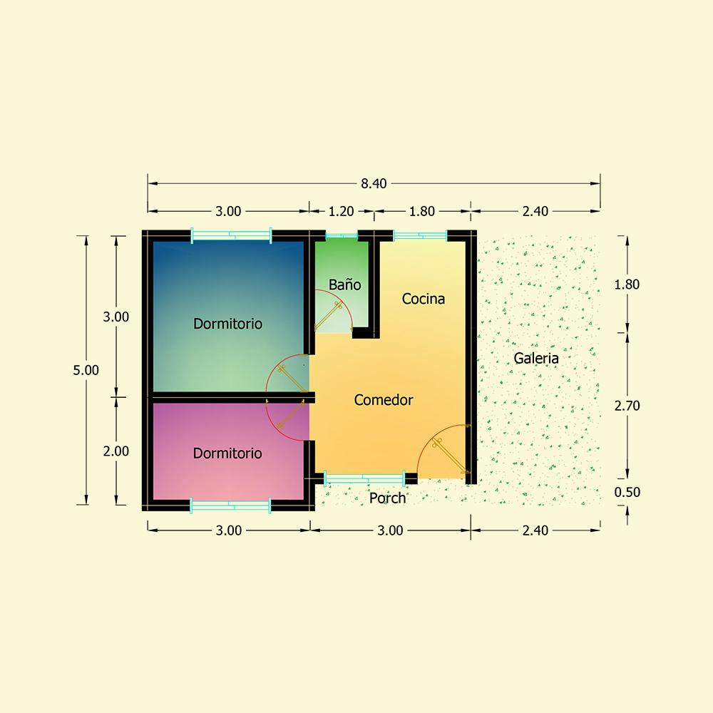 42 mts² (Plano N° 12)