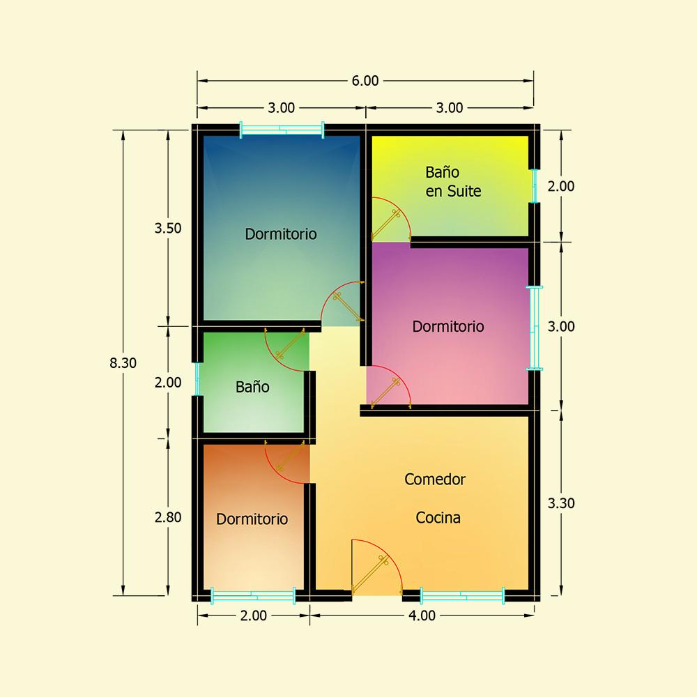 50 mts² (Plano N° 18)