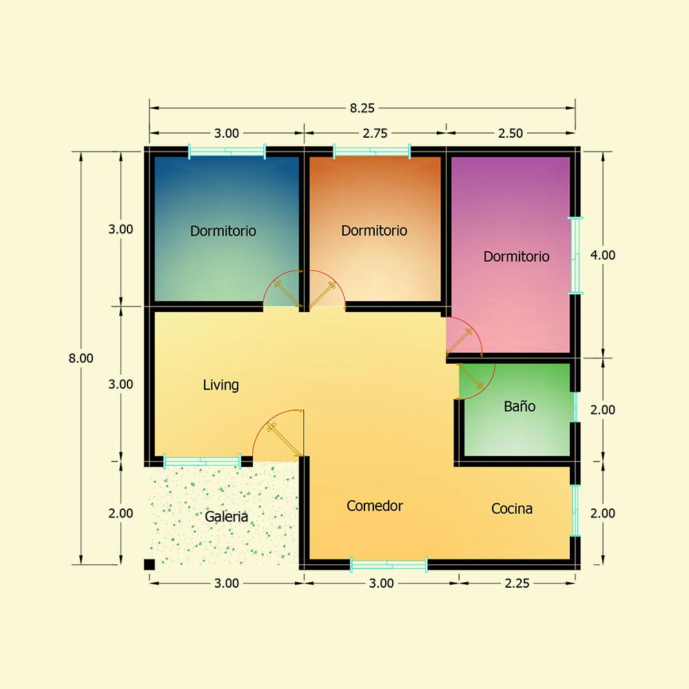 66 mts² (Plano N° 47)